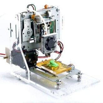 eWaste: imprimante 3D à partir de composants recyclés