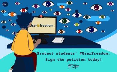 Pétition en ligne de la FSF – Droits numériques des étudiants, logiciels libres et open-source
